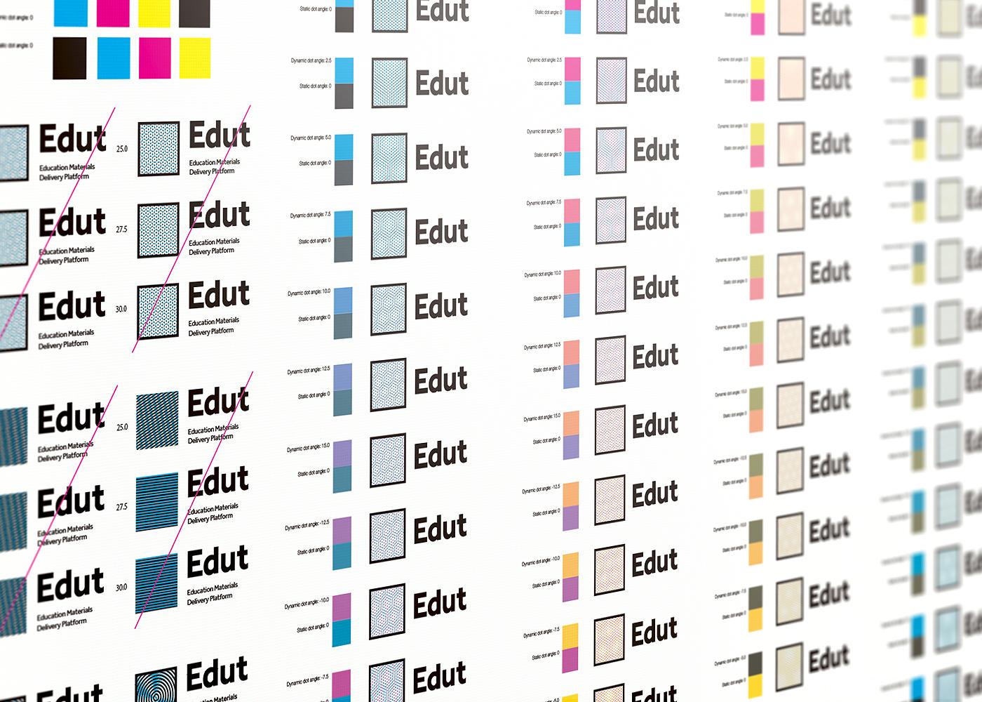 edut logo variations